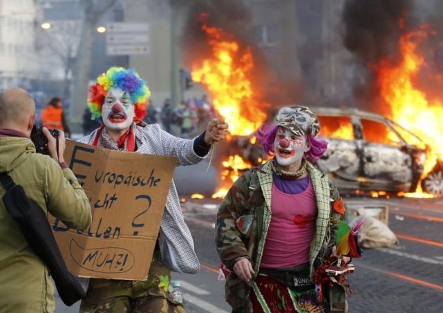 ECB Clowns